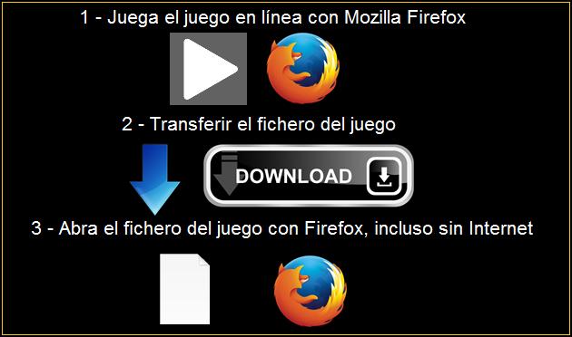 Ayuda para descargar-dowload juegos Firefox